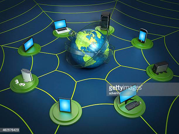 Global network - Internet concept