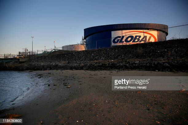 Global Partners LP has agreed to pay fines and upgrade its petroleum storage facilty on the Fore River after being charged with violating the Clean...