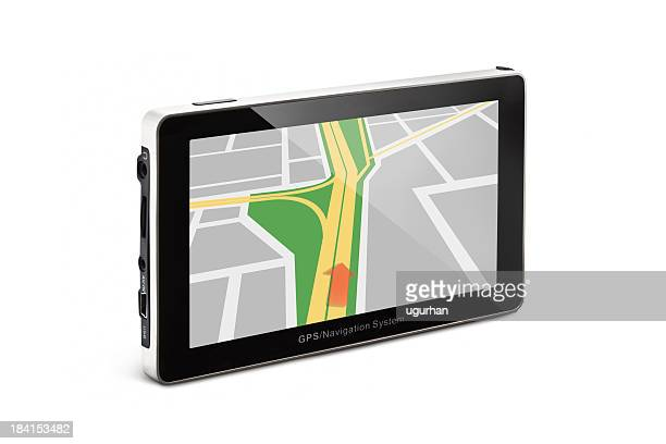 global positioning system - co pilot stock photos and pictures