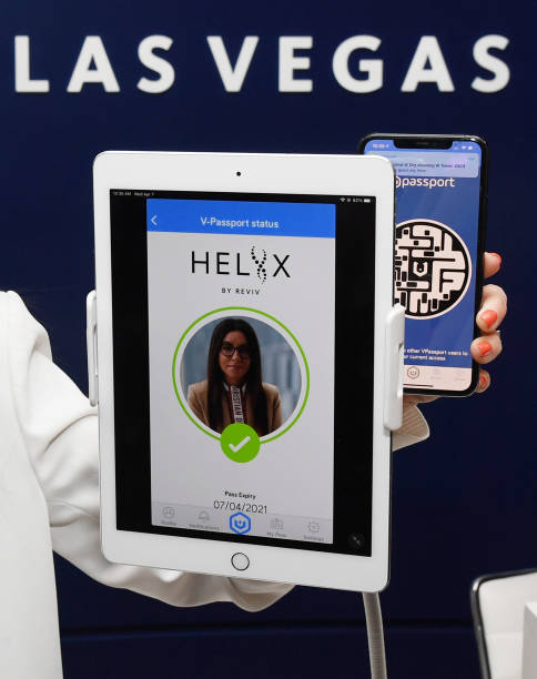 NV: Vaccine Passport Technology Demonstrated In Las Vegas