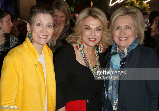 Global President and Chief Content Officer of Refinery29, Amy Emmerich, Sundance Institute Board Chair, Pat Mitchell and Former U.S. Secretary of...