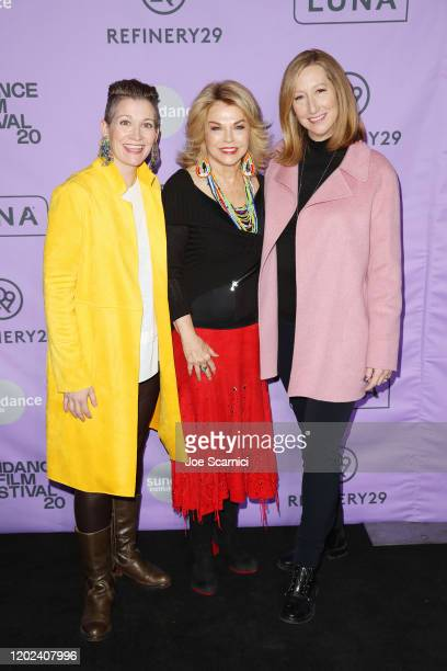Global President and Chief Content Officer of Refinery29, Amy Emmerich, Sundance Institute Board Chair, Pat Mitchell and CEO of Sundance Institute,...