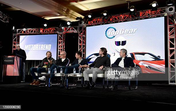 Global President and General Manager MotorTrend Group Alex Wellen Dax Shepard Rob Corddry Jethro Bovingdon Head of Programming Developement...