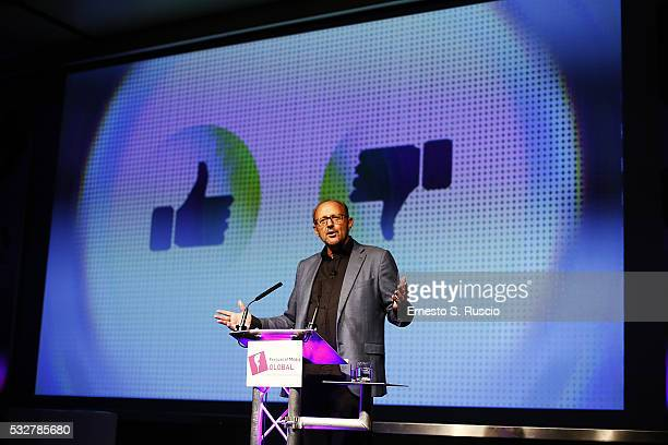 Global President GoupM Dominic Proctor attends the 10th Festival Of Media Global at Waldorf Astoria Hotel on May 19 2016 in Rome