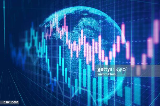 global stock market investment - finance and economy stock pictures, royalty-free photos & images