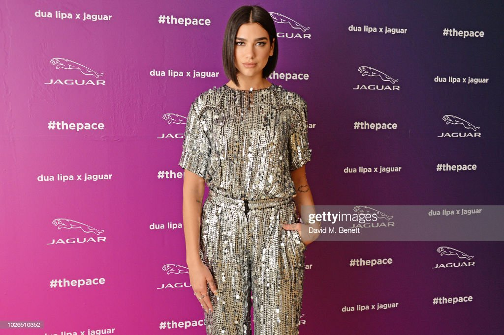 Dua Lipa And Jaguar Create Music Track Every Fan Can Remix And Call Their Own : News Photo