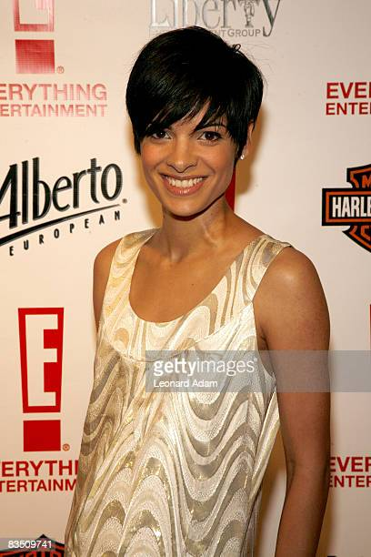 Global TV personality Anne Marie Mediwake attends the E 1st Anniversary Bash held at Spicy Route Restaurant during the 2008 Toronto International...