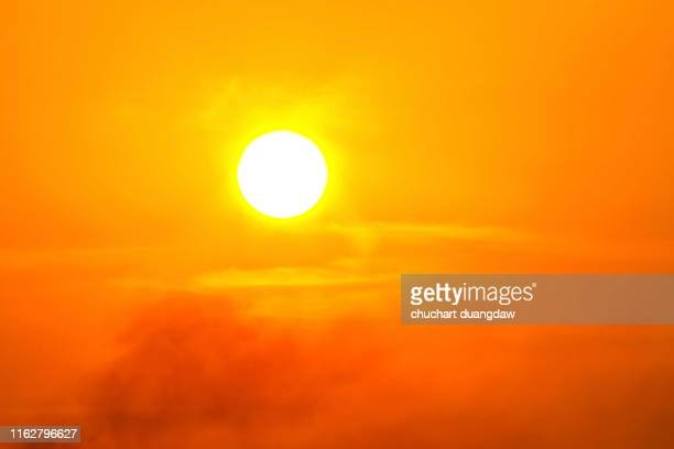 global warming from the sun and burning, heatwave hot sun, climate change, heatwave hot sun, heat stroke - heat wave stock pictures, royalty-free photos & images