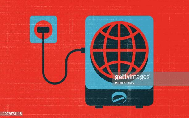 global warming. - cooking illustrations stock pictures, royalty-free photos & images