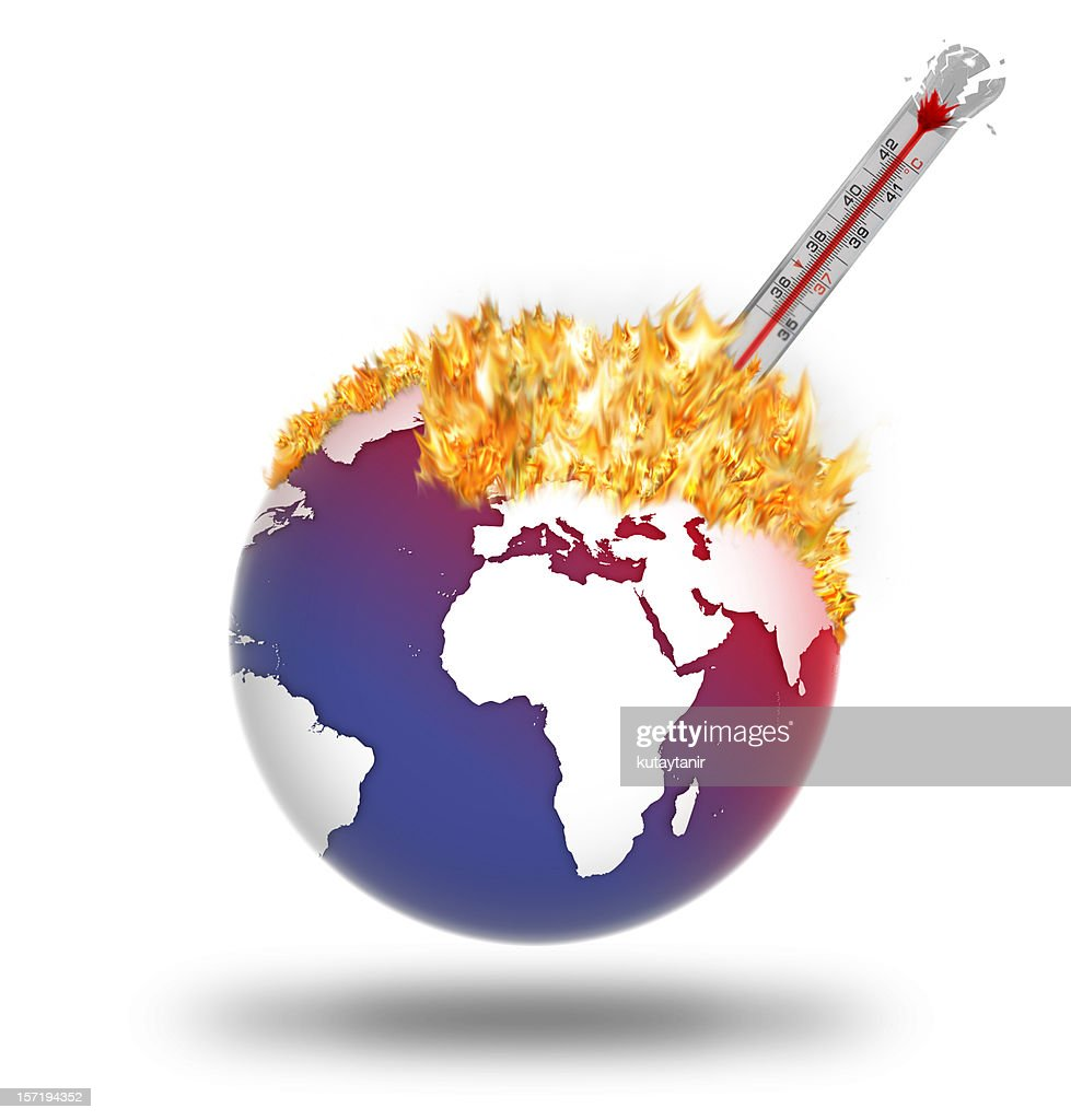Global Warming : Stockfoto