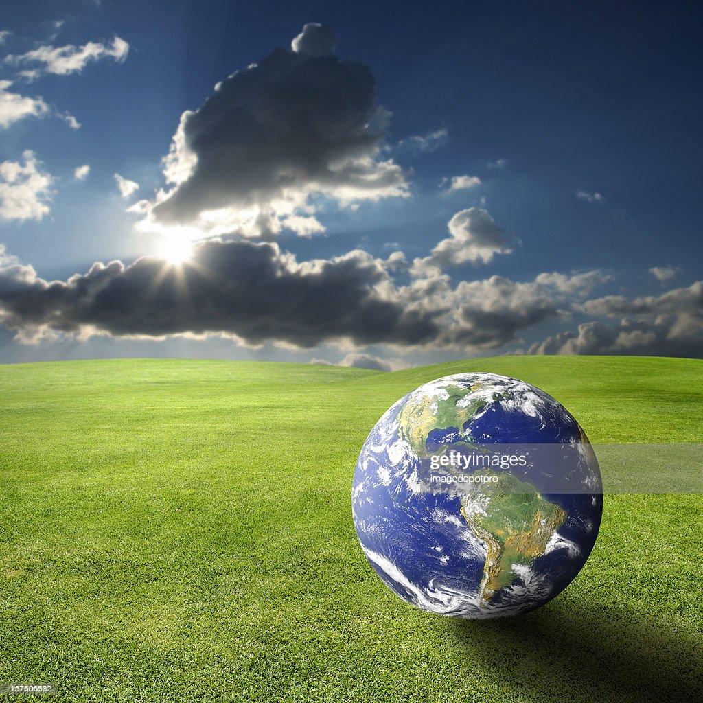 地球温暖化 : ストックフォト