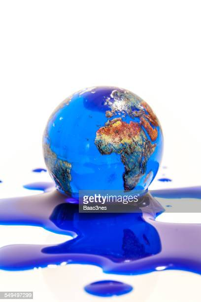 Global warming - The earth is melting