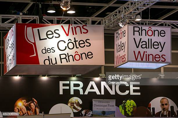 Global wine producers attend Vinexpo AsiaPacific 2014 held at the Hong Kong Convention Exhibition Centre on May 27 in Hong Kong China More than 1300...