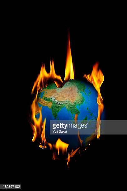 globe burning