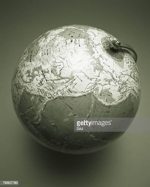 Globe, High Angle View