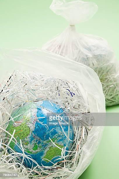 Un mundo en una bolsa de contenedor