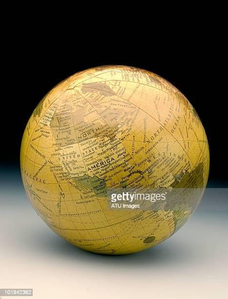 Globe on gradation