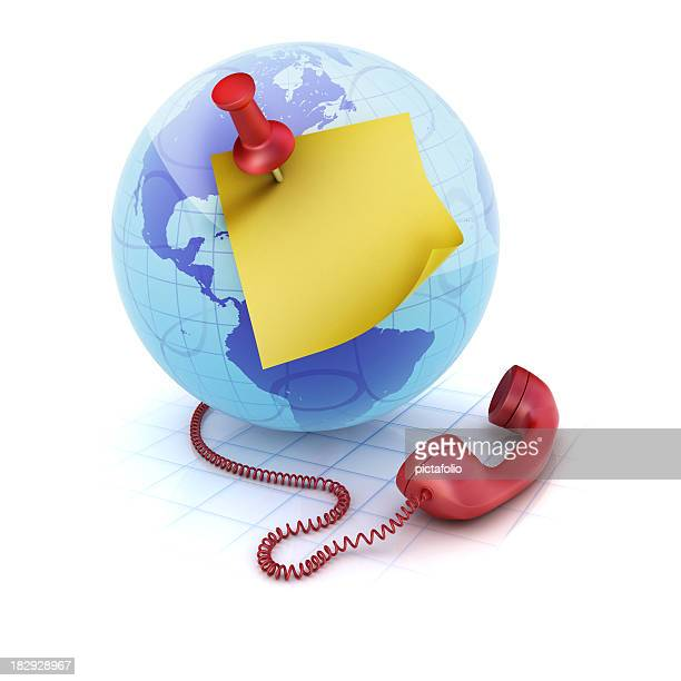 Globe Phone and note