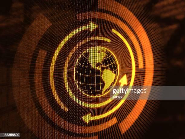 Globe (Gold)