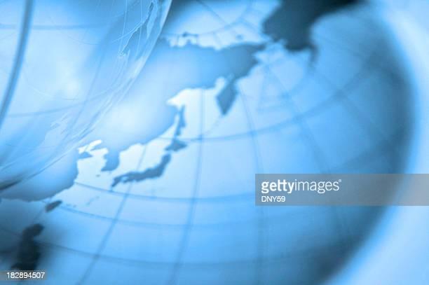 globe - längengrad stock-fotos und bilder