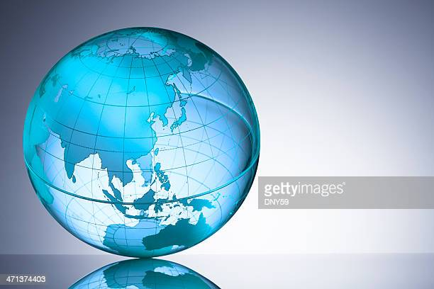 globe - china east asia stock pictures, royalty-free photos & images