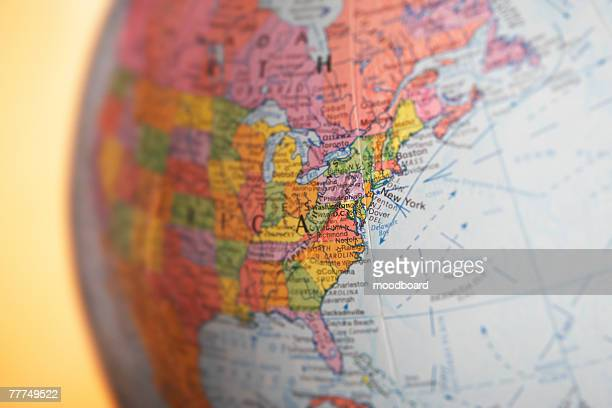 globe - north america stock pictures, royalty-free photos & images
