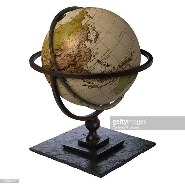 Globe Showing Asia