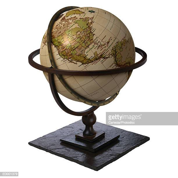 Globe Showing North America and South America