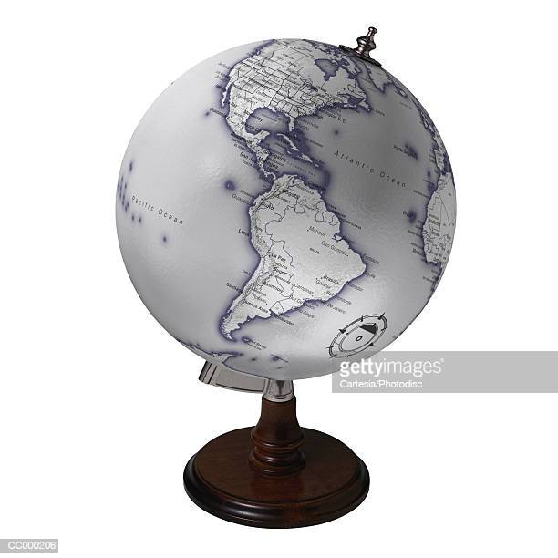 Globe Showing the Americas