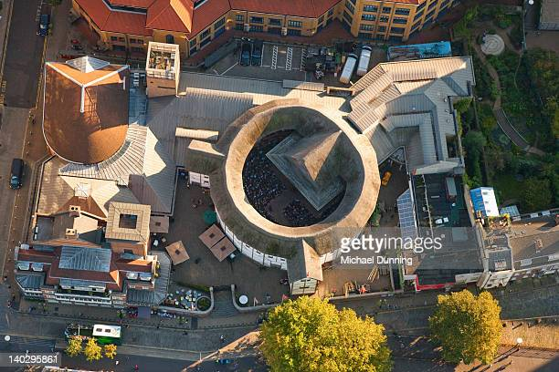Globe Theatre, London, aerial