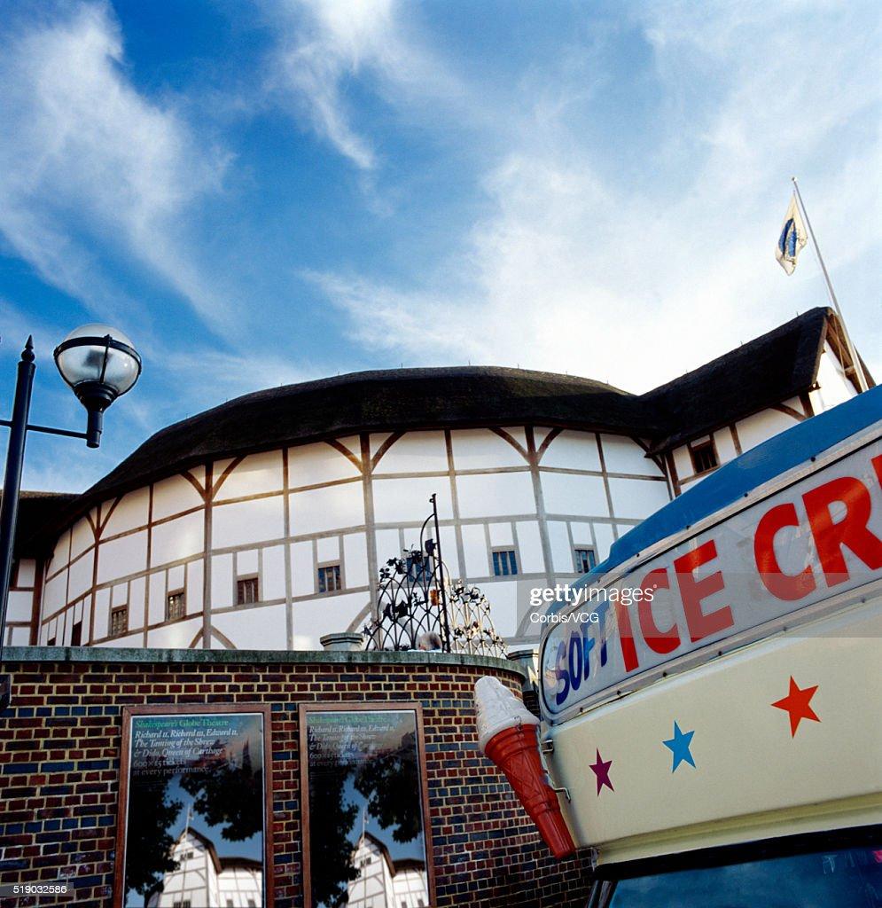 Globe Theatre, London : Stock Photo