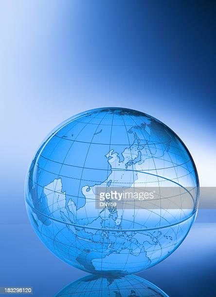 Globe-Asia & Western Pacific