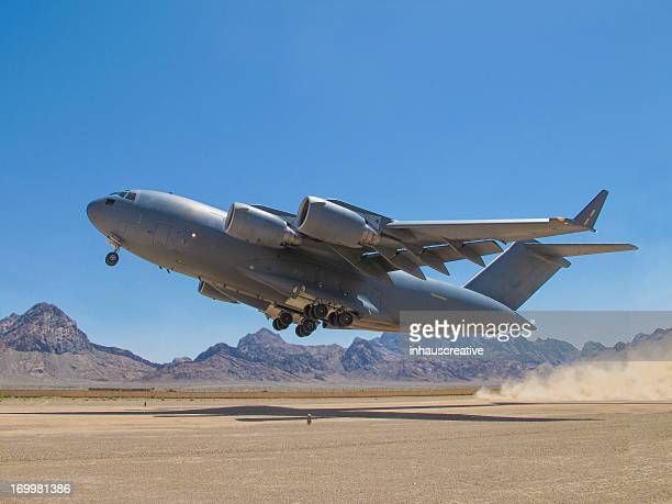 C17 Globemaster III taking off