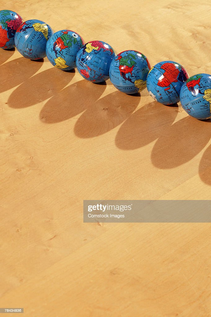 Globes : Stockfoto