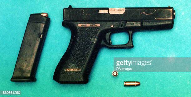 A Glock 9mm pistol similar to the one which dropped from the holster of one of Prince William's bodyguards in the early hours of Thursday morning The...