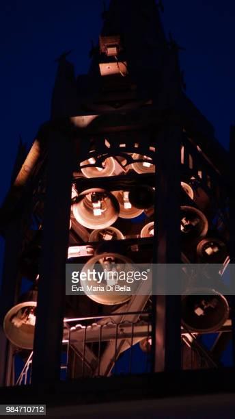 glockenstuhl rathaus hofgeismar - kingsnake stock photos and pictures