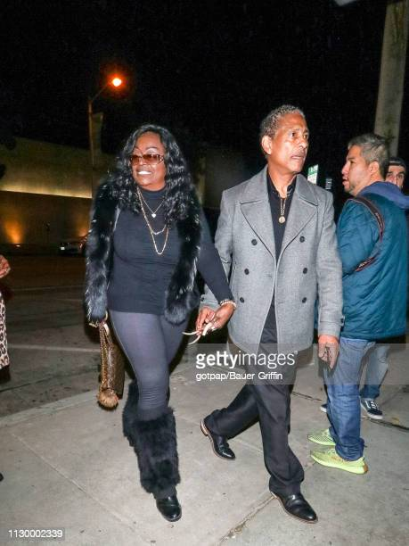 Glodean White is seen on March 11 2019 in Los Angeles California