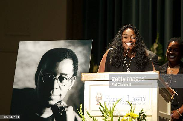 Glodean White shares her experiences with the late Don Cornelius at his Memorial Service on February 16 2012 in Los Angeles California