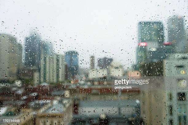 Sombría City tipo lluvia