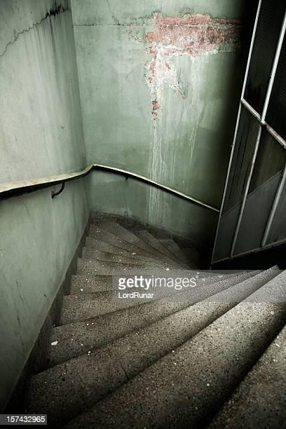 Gloomy stairway