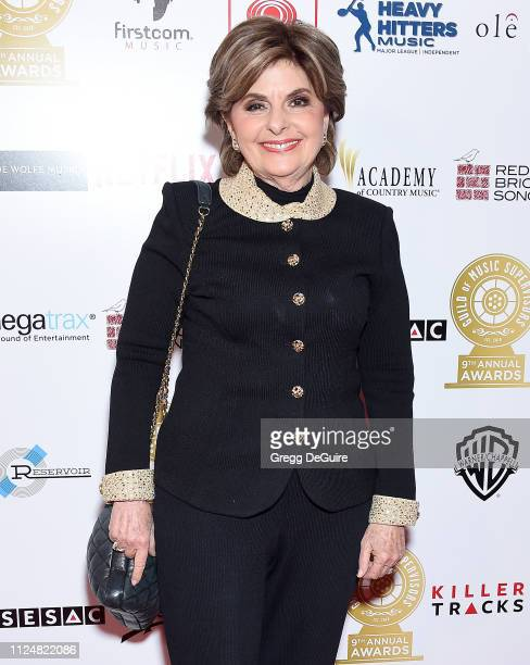Gloria Allred attends the 9th Annual Guild Of Music Supervisors Awards at The Theatre at Ace Hotel on February 13, 2019 in Los Angeles, California.