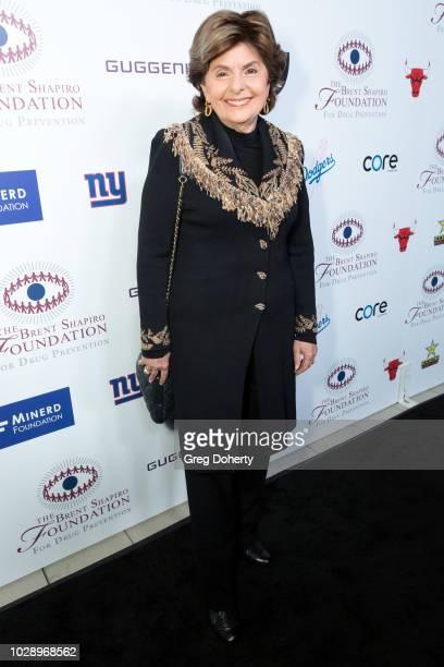 Gloria Allred attends The Brent Shapiro Foundation Summer Spectacular on September 7 2018 in Beverly Hills California