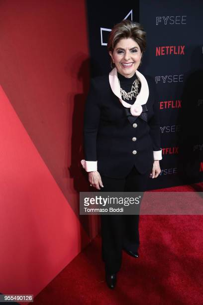 Gloria Allred attends the Netflix FYSEE Kick-Off Event at Netflix FYSEE At Raleigh Studios on May 6, 2018 in Los Angeles, California.