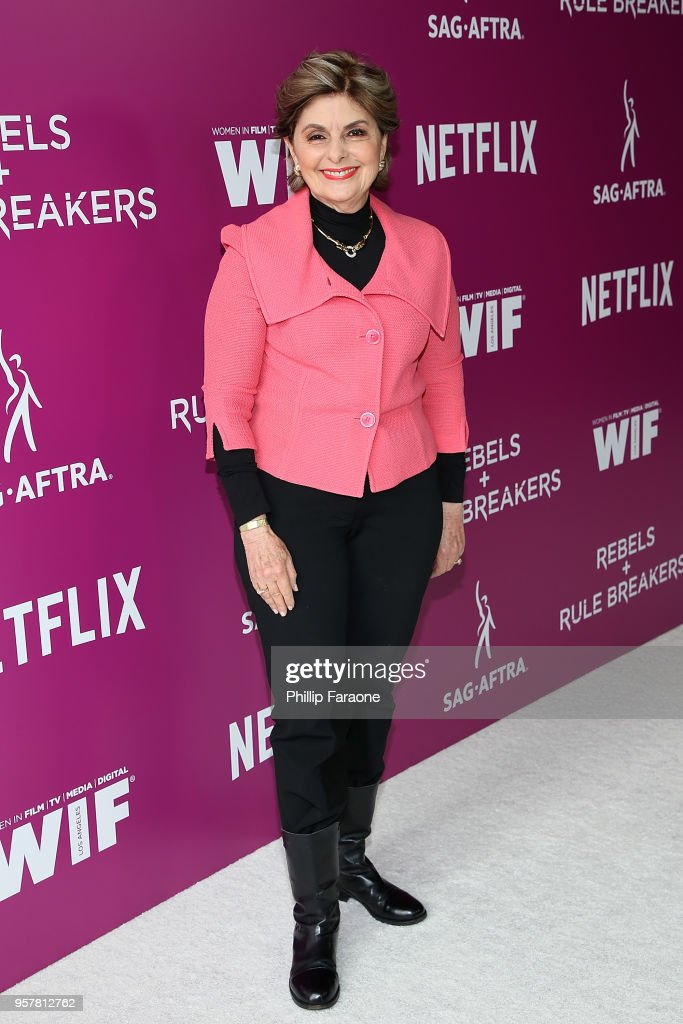 Gloria Allred attends the Netflix - Rebels and Rule Breakers For Your Consideration Event at Netflix FYSee Space on May 12, 2018 in Beverly Hills, California.