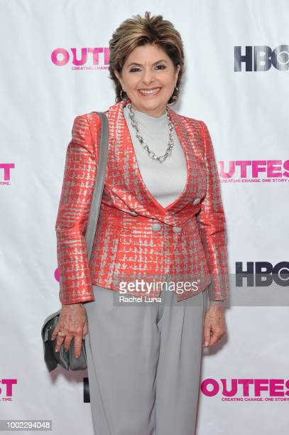 Gloria Allred attends the Outfest World Premiere Of 'A Long Road To Freedom The Advocate Celebrates 50 Years' at Samuel Goldwyn Theater on July 19...