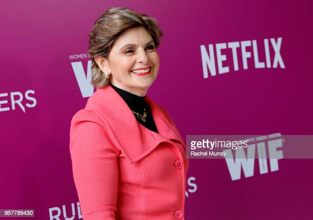 Gloria Allred attends the Rebels and Rule Breakers Panel at Netflix FYSEE at Raleigh Studios on May 12 2018 in Los Angeles California
