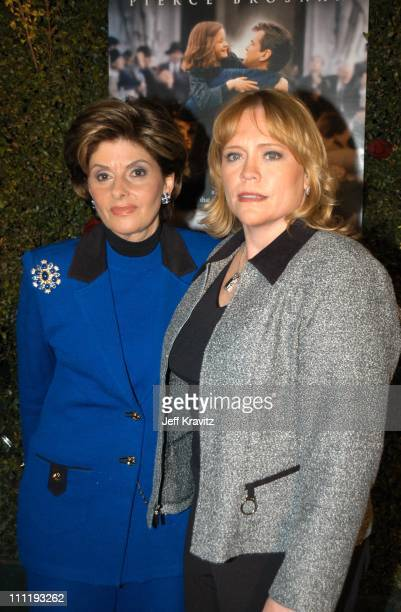 """Gloria Allred & Brenda Van Dam during US Presents """"Evelyn"""" at Academy of Motion Pictures Arts & Sciences in Beverly Hills, CA, United States."""