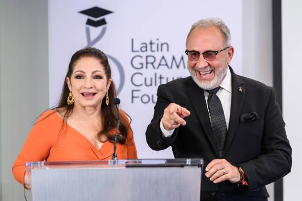 FL: Latin Grammy Cultural Foundation Hosts Emilio And Gloria Estefan Scholarship Special Presentation