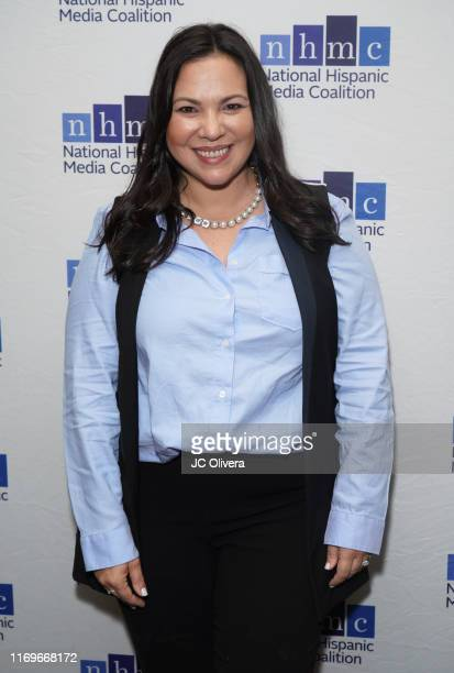 Gloria CalderonKellet attends the NHMC's 17th Annual Los Angeles Impact Awards luncheon at Hilton Universal City on August 22 2019 in Universal City...