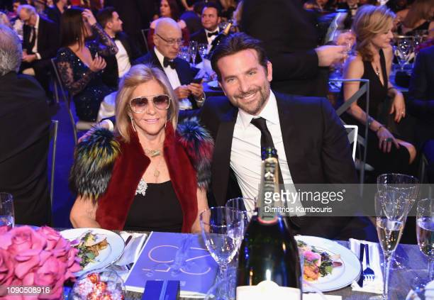 Gloria Campano and Bradley Cooper during the 25th Annual Screen Actors Guild Awards at The Shrine Auditorium on January 27 2019 in Los Angeles...